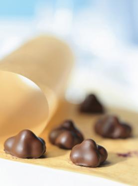 Bleuets au chocolat
